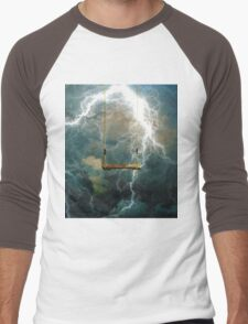 A STORM RAVAGING OUR CHILDREN Men's Baseball ¾ T-Shirt