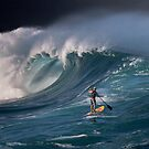 Winter Waves At Waimea Bay 16 by Alex Preiss
