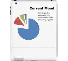Current Mood Pie Chart iPad Case/Skin