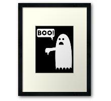 Ghost dislike Framed Print