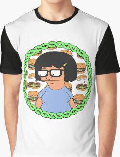 Tina ft Burgers Graphic T-Shirt
