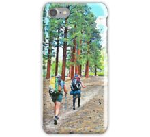 Backpacking Bliss iPhone Case/Skin