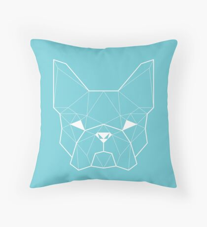French Geometry Light Throw Pillow