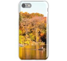 Central Park in the Fall iPhone Case/Skin
