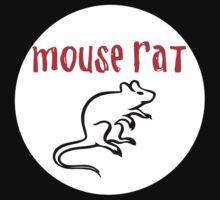 mouse rat white circle by amazingbigguns