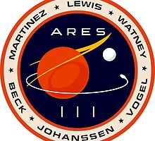 """""""Martian"""" Ares III Patch by quarksbar"""