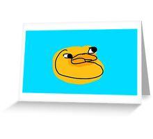 Sebastian Savage Duck Greeting Card