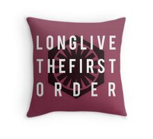 Long Live The First Order Throw Pillow