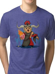 Valentines Day - Mola Ram Tri-blend T-Shirt