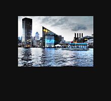 Baltimore City  Maryland Inner Harbor Night Scene Unisex T-Shirt