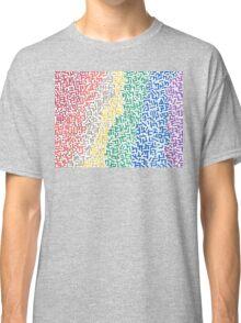 Spectrum - Mixed Media Painting Classic T-Shirt