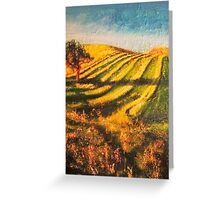 Cork Tree Greeting Card