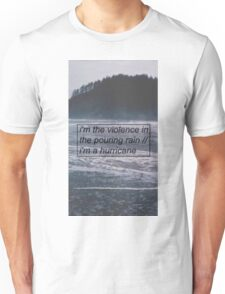 Halsey - Hurricane Lyrics 2 Unisex T-Shirt