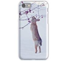 Crabapple Snow Bunny iPhone Case/Skin