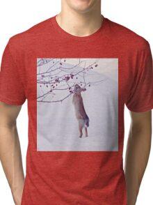 Crabapple Snow Bunny Tri-blend T-Shirt