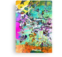 lykkelige gaten Canvas Print