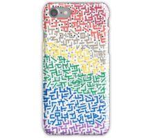 Spectrum - Mixed Media Painting iPhone Case/Skin