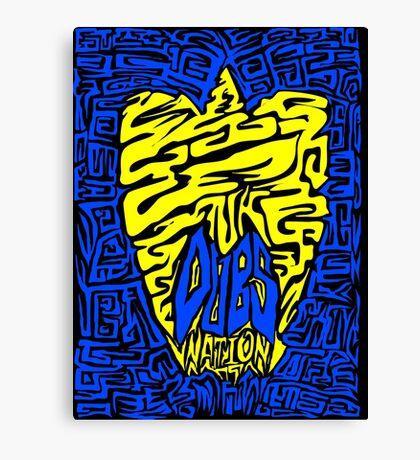 DUBS Nation Canvas Print