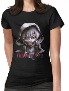 kaneki ken - Tokyo Ghoul Womens Fitted T-Shirt