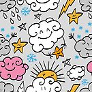 - Funny clouds 3 - by Losenko  Mila