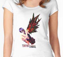 Kirishima - Tokyo Ghoul Women's Fitted Scoop T-Shirt