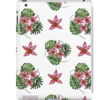 Tropical background. Summer pattern.  iPad Case/Skin