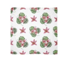 Tropical background. Summer pattern.  Scarf