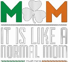 I'M A PROUND IRISH MOM by HotTShirts