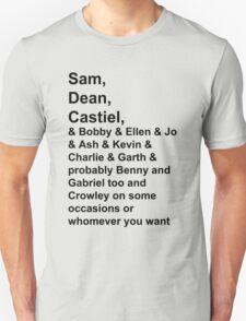 Team Free Will, et al. [LIGHT] T-Shirt