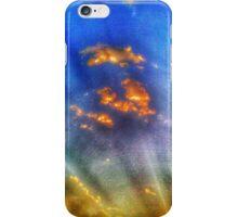 Textured Sun Rays Cool iPhone Case/Skin