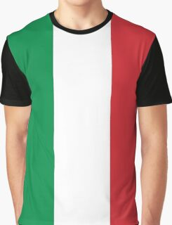 Awesome Italian Flag Graphic T-Shirt
