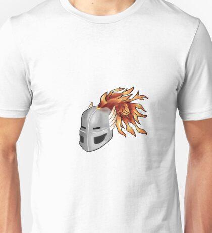 Fantasy Knight Helmet Unisex T-Shirt