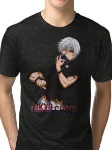kaneki ken - Tokyo Ghoul 09 Tri-blend T-Shirt