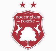nottingham forest old logo One Piece - Short Sleeve
