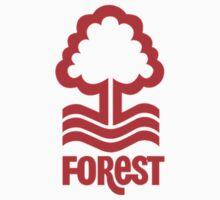 nottingham forest logo Kids Tee