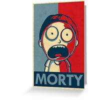 Morty Greeting Card