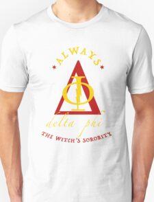 Fake Sorority Delta Phi T-Shirt