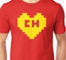 8Bit El Chapulín Heart Unisex T-Shirt