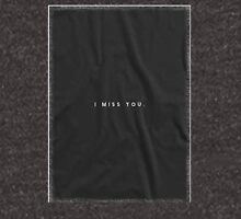 Common Culture Connor Franta I MISS YOU TEE Unisex T-Shirt
