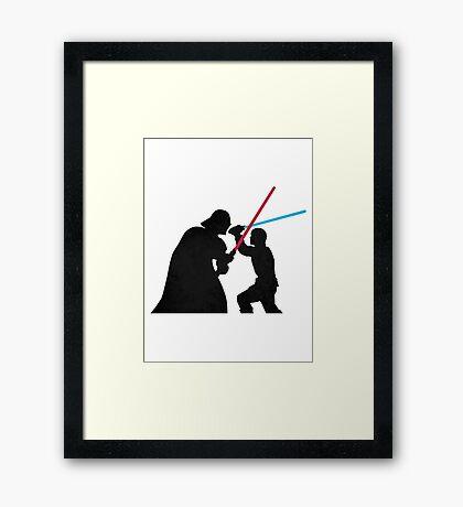 Star Wars Galaxy of Heroes Framed Print