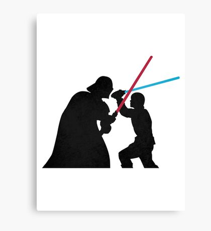 Star Wars Galaxy of Heroes Canvas Print