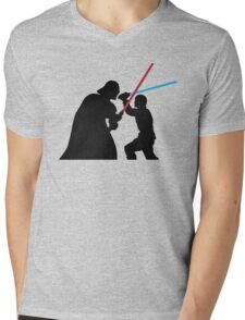 Star Wars Galaxy of Heroes Mens V-Neck T-Shirt