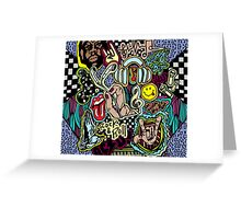Music Doodle Greeting Card