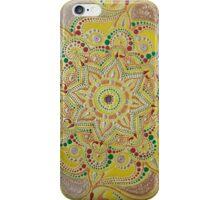 Handpainted mandala iPhone Case/Skin