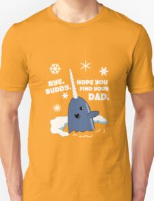 Buddy The Elf Sweater Bye Buddy Hope You Find Your Dad funny nerd geek geeky T-Shirt