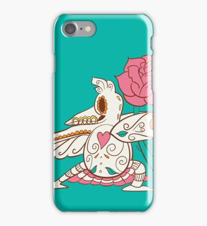 Farfetch'd Pokemuerto | Pokemon & Day of The Dead Mashup iPhone Case/Skin