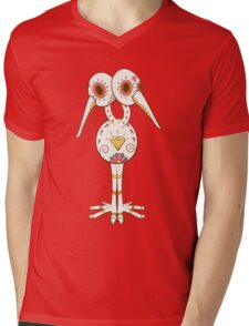 Doduo Pokemuerto | Pokemon & Day of The Dead Mashup Mens V-Neck T-Shirt