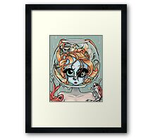 """Lying is the Most Fun..."" Framed Print"
