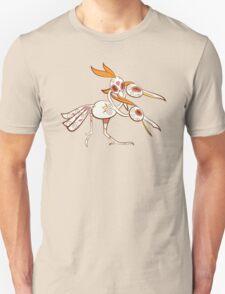 Dodrio Pokemuerto   Pokemon & Day of The Dead Mashup T-Shirt
