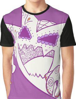 Haunter Pokemuerto | Pokemon & Day of The Dead Mashup Graphic T-Shirt